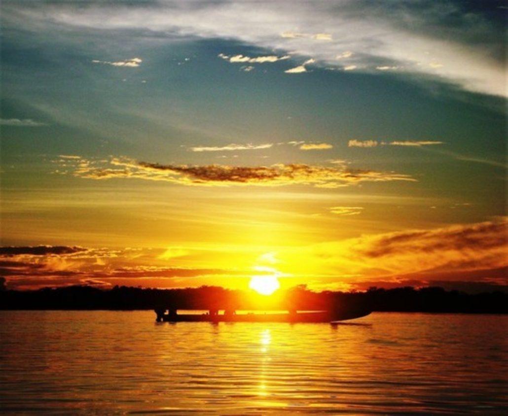 l'immagine non rende l'infinita bellezza di questa terra di Amazzonia