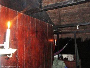 una candela rischiarirà una notte di Amazzonia