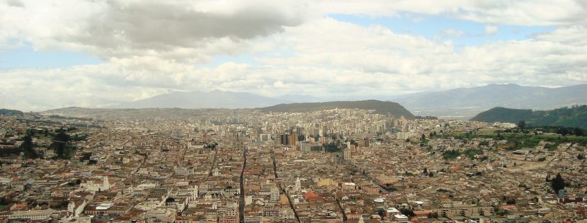 la capitale dell'Ecuador