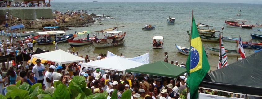 Una festa del Candomblè nella capitale dello stato di Bahia