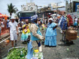 La festa di Iemanjà, Candomblè, Salvador, 2 febbraio Brasile