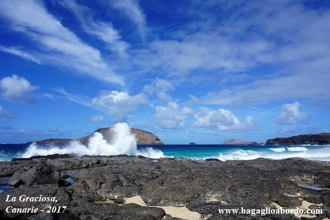il mare delle isole Canarie