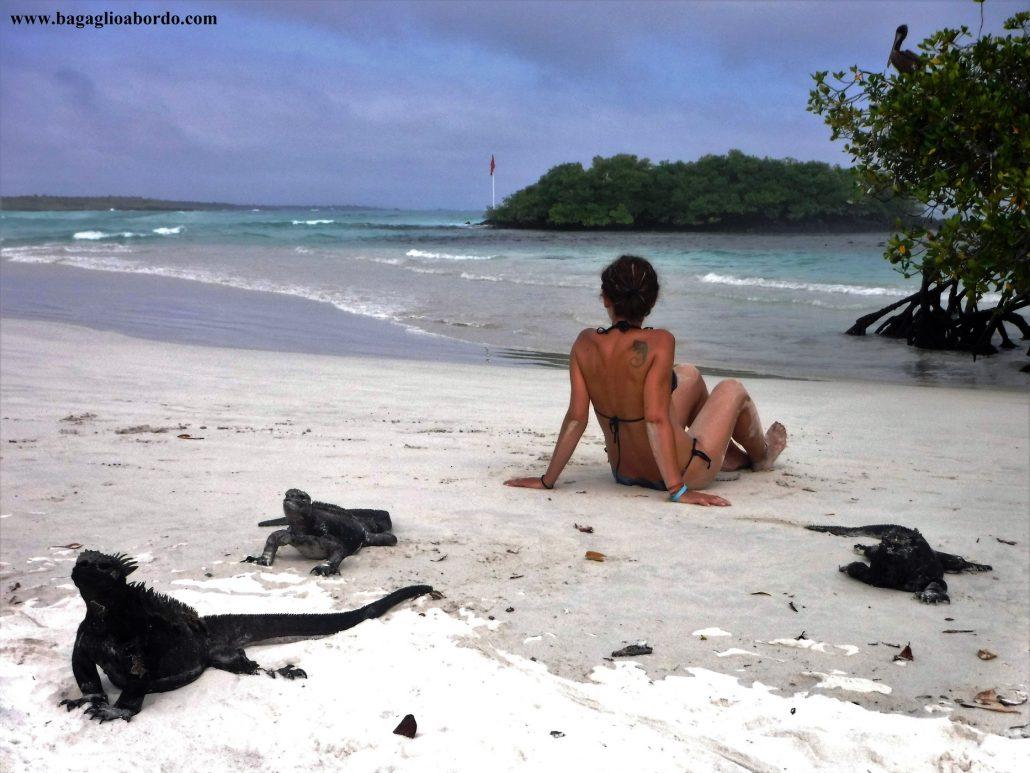spiagge ad ingresso libero e gratuito nelle isole Galapagos