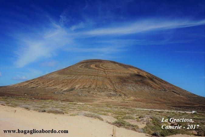 paesaggi a La Graciosa, isole Canarie