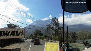 viaggio in bus nel Borneo