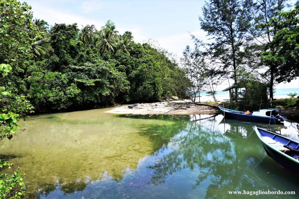 il tempo si è fermato in questo villaggio del Borneo