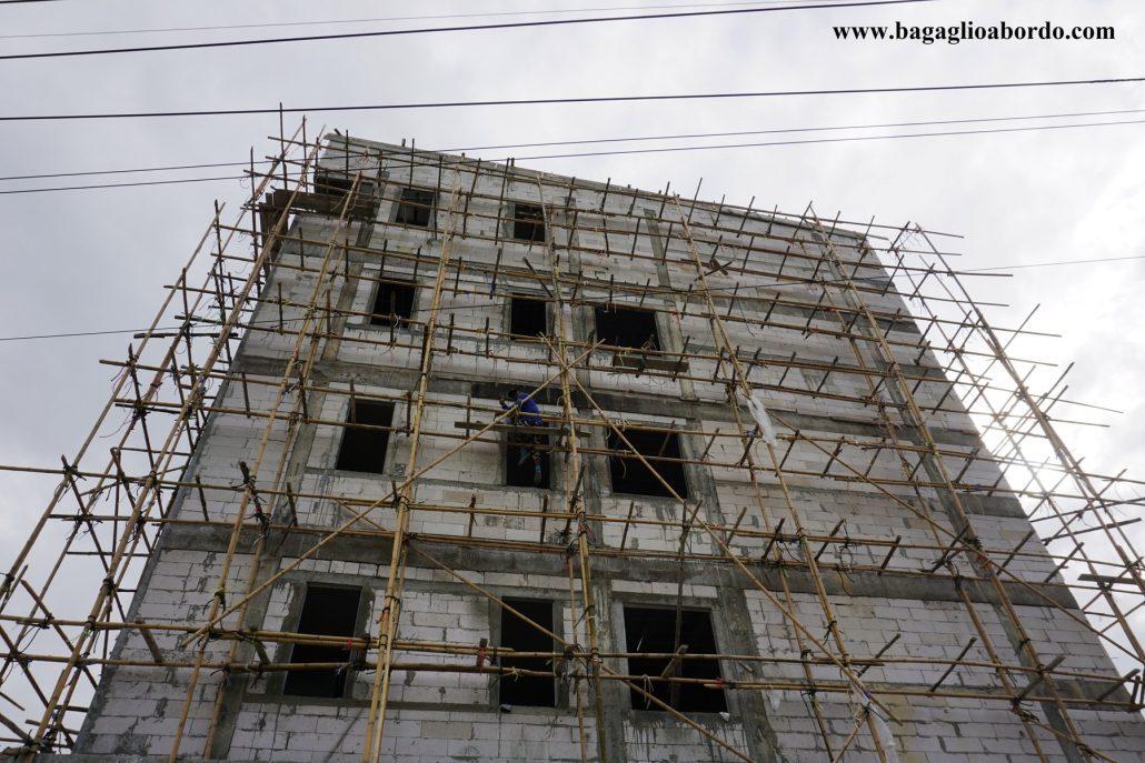costruzione di case in Thailandia