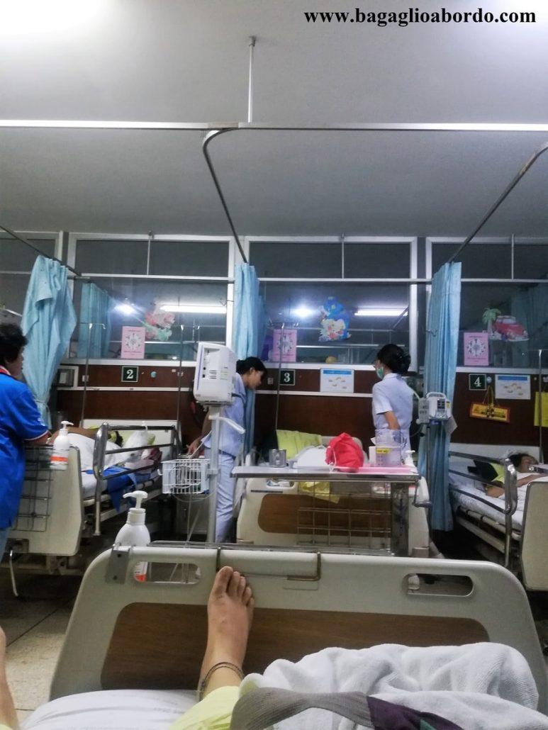 nel complesso, soddisfatta dell'assistenza di un nosocomio thailandese