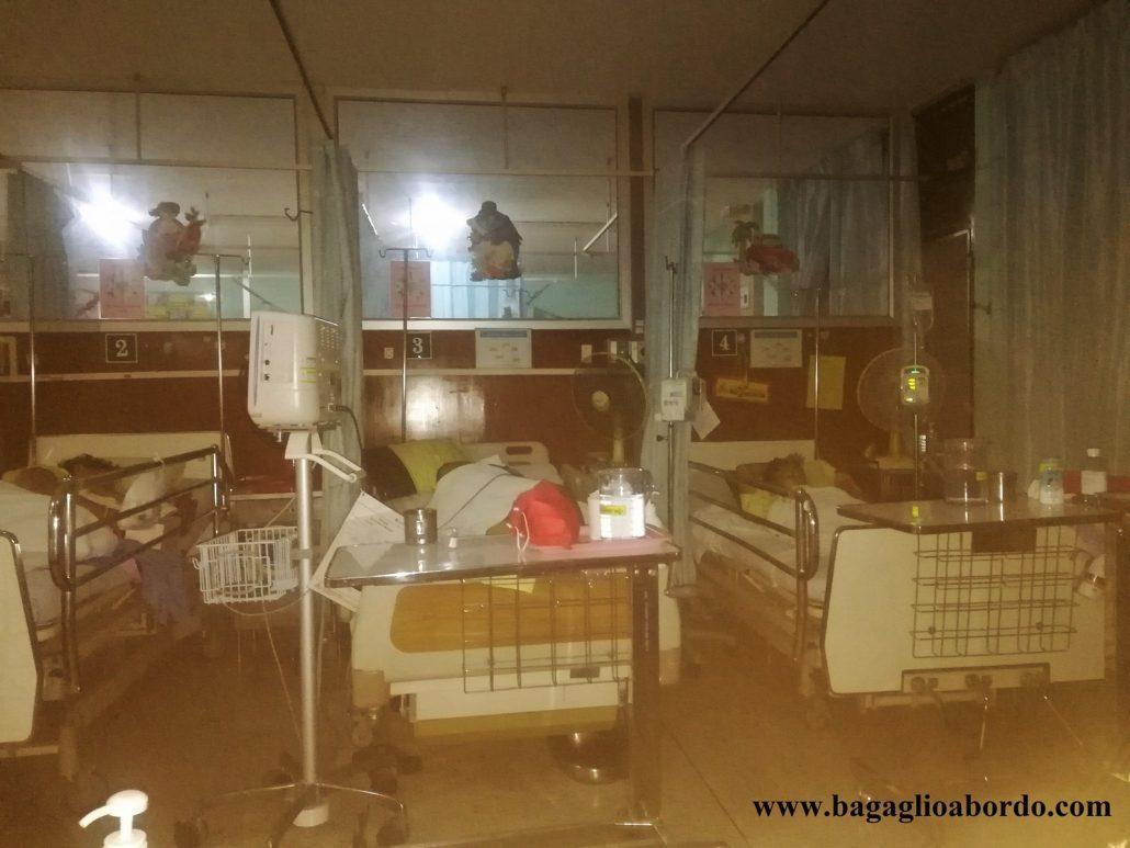 essere ricoverati in un ospedale straniero